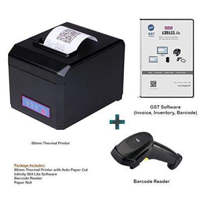 Infinity Infocom 80mm Thermal Printer, Barcode Reader