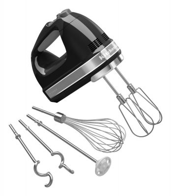 KitchenAid KHM926OB 9-Speed Digital Hand Mixer