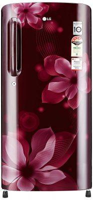 LG 190L 4 Star Direct Cool Single Door Refrigerator