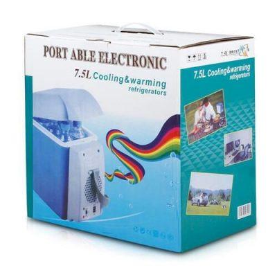 Maa Gaytri Sarees Mini Refrigerator Portable Fridge