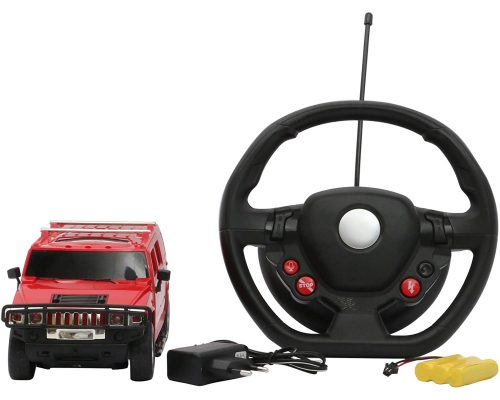 Majorette Hummer Gravity Remote Control Car, Red