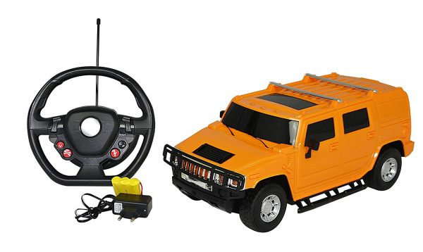 Majorette Simba Hummer Gravity Remote Control Car, Yellow