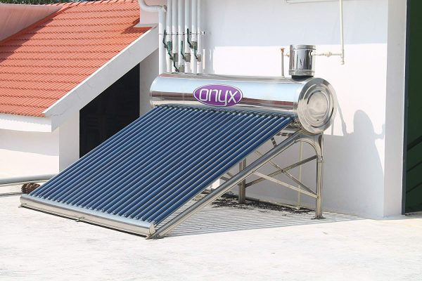 ONYX SOLAR WATER HEATER 200L FULLY STAINLESS STEEL