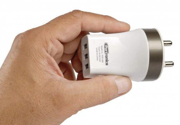 Portronics POR-329 3 Port USB Charger