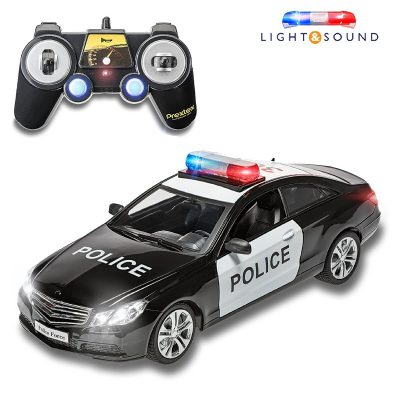 Prextex Mercedes Rc Police Car