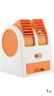 Renyke Mini Fan & Portable Dual Bladeless Small