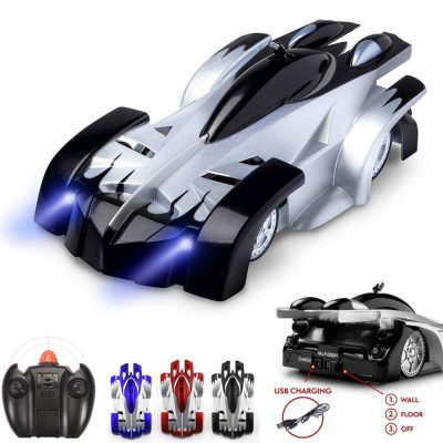 SZJJX Spiderman Wall Climber Climbing RC Car