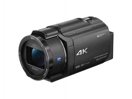 Sony 4K Video Camera Handycam 20x Optical FDR
