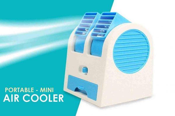VOLTAC Mini USB Fragrance Air Conditioner Cooling Fan