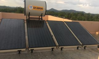 Power Electronic Convection solar Water Heater