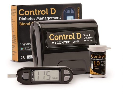 Control D Blood Glucose Monitor