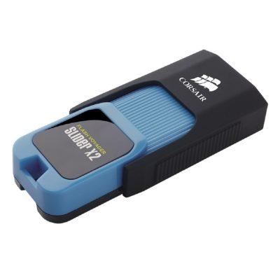 Corsair Flash Voyager Slider X2 Flash Drive, USB3.0, 256GB