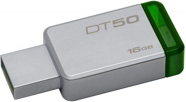 Kingston DataTraveler 16GB USB 3.0 Flash Drive