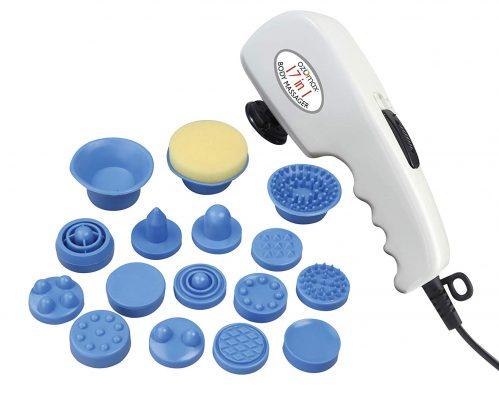 Ozomax BL-182-PR Pro Massage Apparatus with 17 Attachments