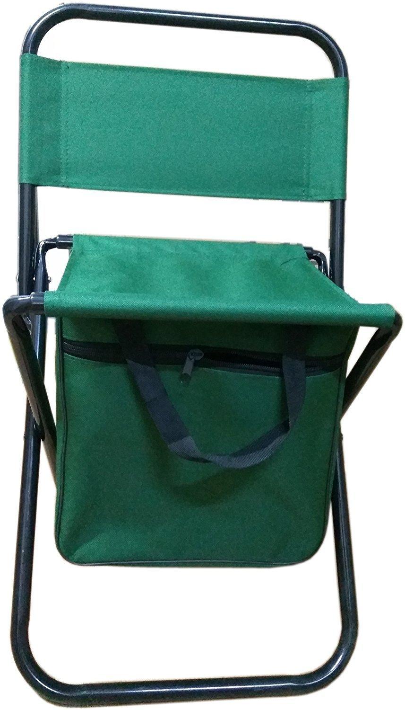 Pink Pari Label Steel Portable Folding Chair Tech All