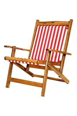 ROYAL BHARAT Low Back Folding Relaxing Easy Chair