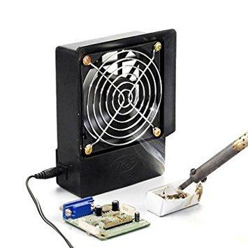 Tradico® Exhaust Fan Kit Electric Soldering Iron Air Blower Welding Smoke Exhaust Fan